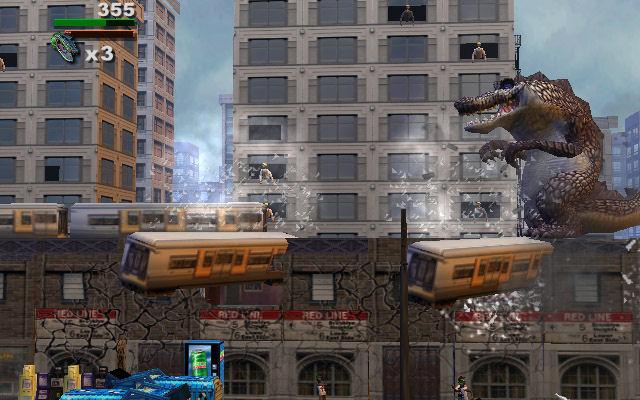 Rampage Total Destruction Screenshot 4 Gamecube The Gamers