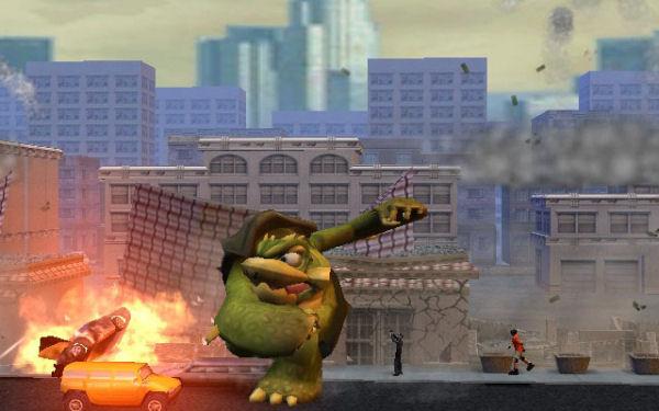 Rampage Total Destruction Screenshot 24 Gamecube The Gamers