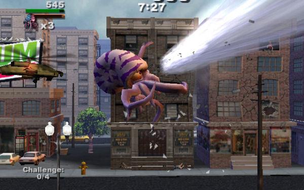 Rampage Total Destruction Screenshot 22 Playstation 2 The