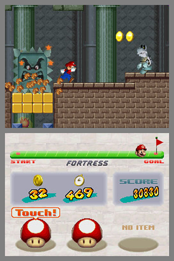 New Super Mario Bros Screenshot 1 Ds The Gamers Temple