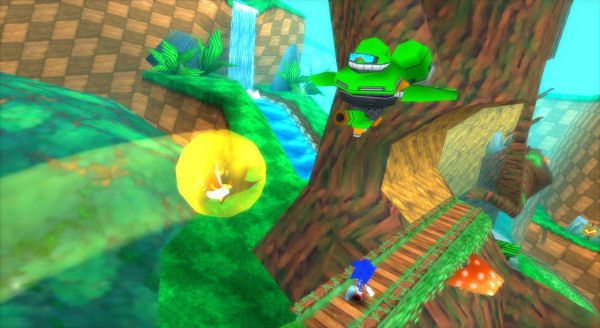 Sonic Rivals Screenshot 3 Psp The Gamers Temple