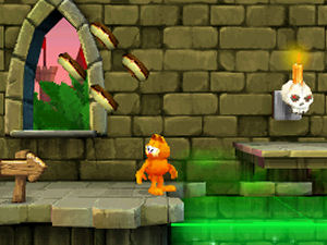 Garfield S Nightmare Review Ds The Gamers Temple