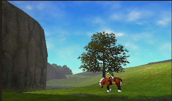 The Legend of Zelda: Ocarina of Time 3D screenshot 3
