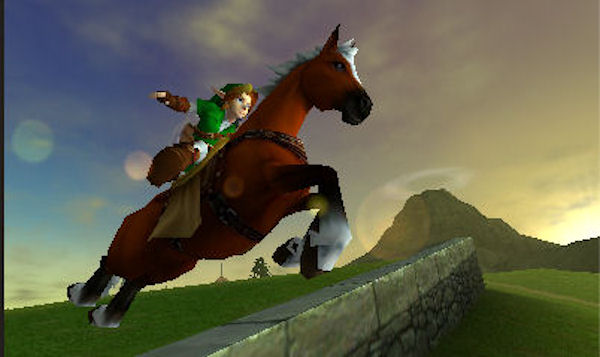 The Legend of Zelda: Ocarina of Time 3D screenshot 6