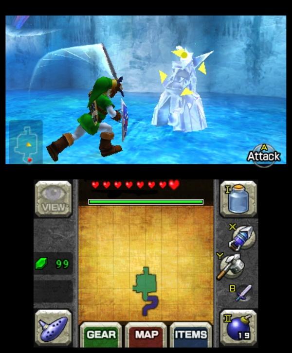 The Legend of Zelda: Ocarina of Time 3D screenshot 9