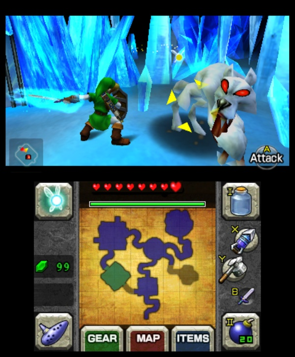The Legend of Zelda: Ocarina of Time 3D screenshot 11