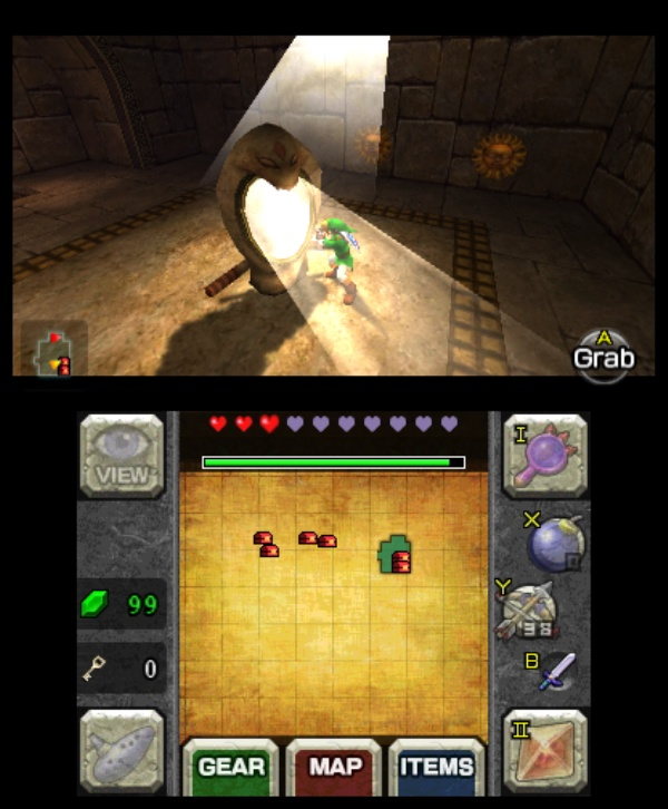 The Legend of Zelda: Ocarina of Time 3D screenshot 14