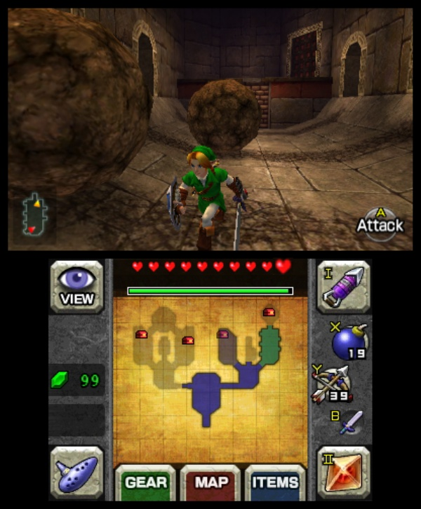 The Legend of Zelda: Ocarina of Time 3D screenshot 15
