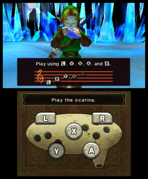The Legend of Zelda: Ocarina of Time 3D screenshot 16