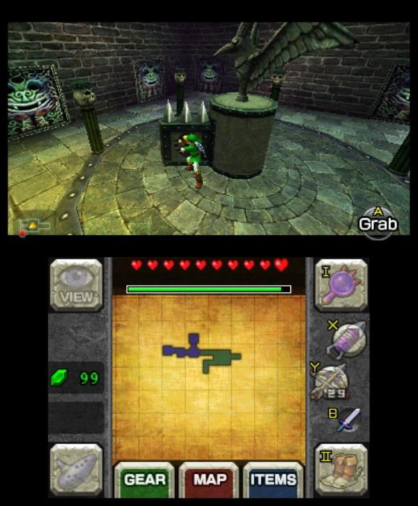 The Legend of Zelda: Ocarina of Time 3D screenshot 17