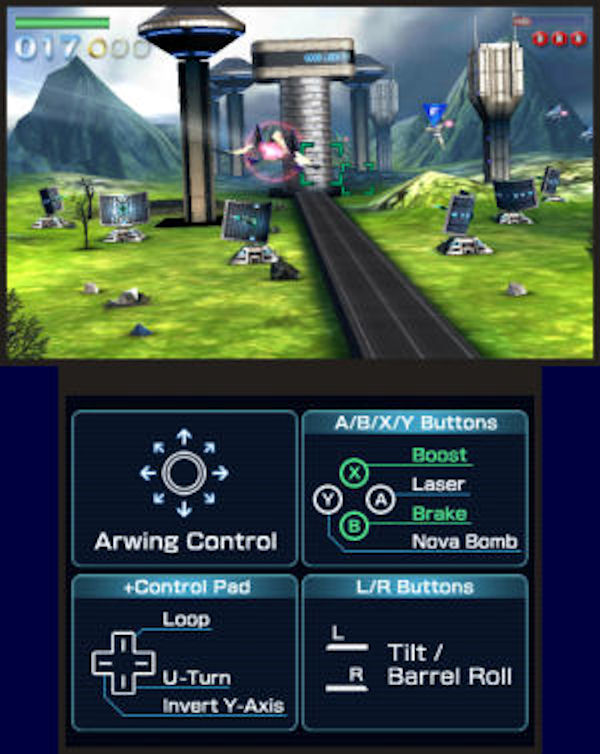 Star Fox 64 3D screenshot 1