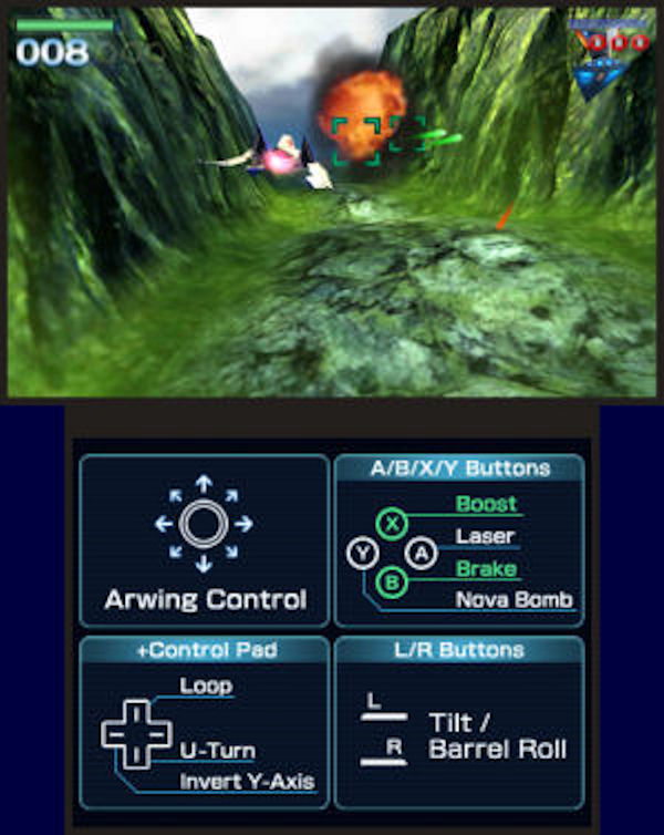 Star Fox 64 3D screenshot 3