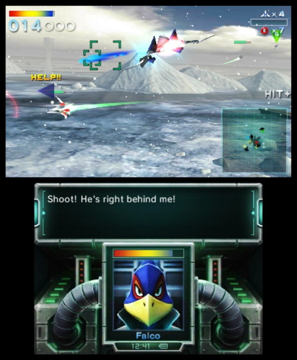 Star Fox 64 3D screenshot 16