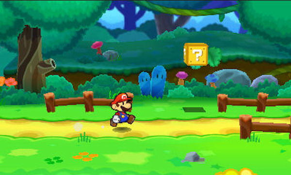 Paper Mario: Sticker Star screenshot 1
