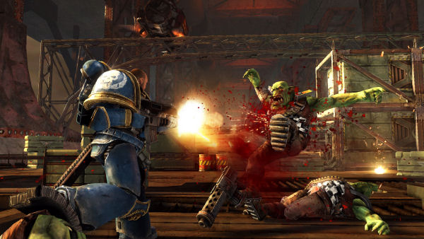 Warhammer 40,000 Space Marine screenshot 6