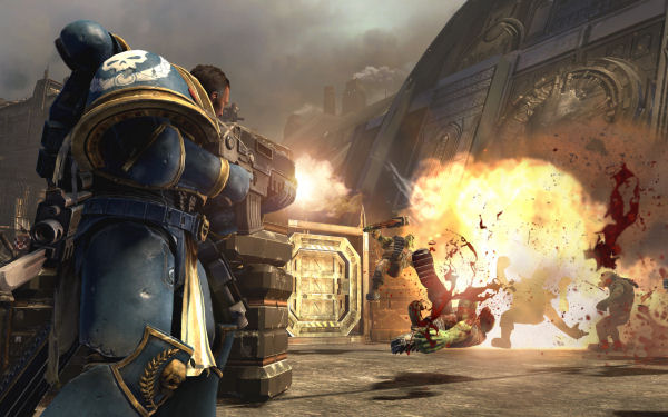 Warhammer 40,000 Space Marine screenshot 10