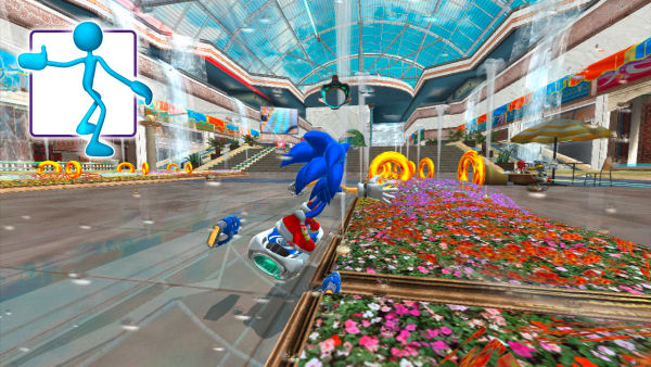 Sonic Free Riders screenshot 1