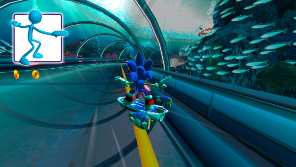 Sonic Free Riders screenshot 2