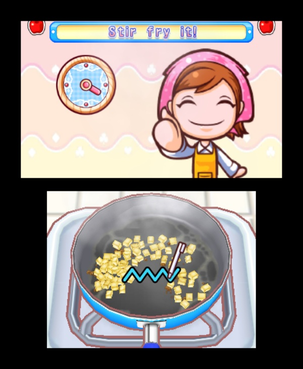 Cooking Mama 4 Kitchen Magic Screenshot 4 3ds The