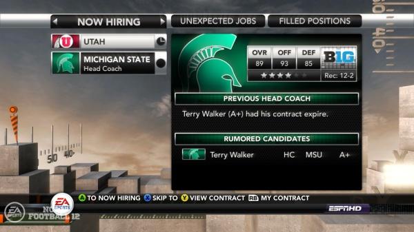 NCAA Football 12 screenshot 2