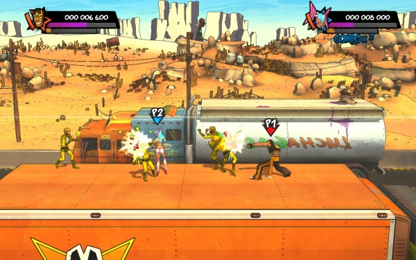 Lucha Fury screenshot 1