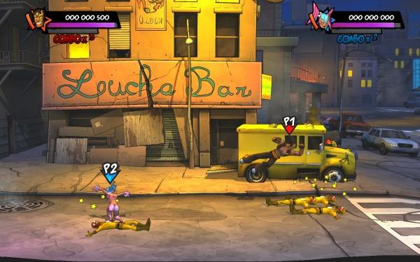 Lucha Fury screenshot 3