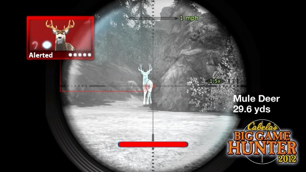 Cabela's Big Game Hunter 2012 screenshot 3