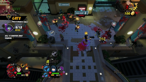 All Zombies Must Die! screenshot 1