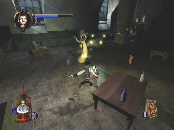 the haunted mansion screenshot 4 - gamecube