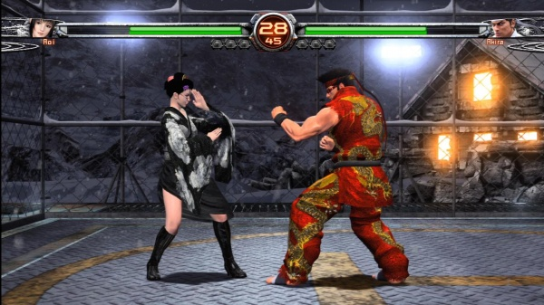 Virtua Fighter 5 Final Showdown screenshot 2