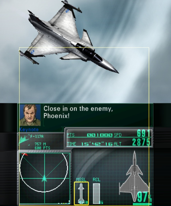 Ace Combat Assault Horizon Legacy screenshot 1