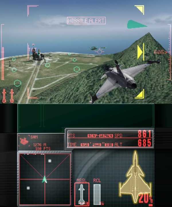 Ace Combat Assault Horizon Legacy screenshot 2