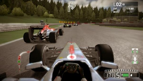 F1 2011 screenshot 2