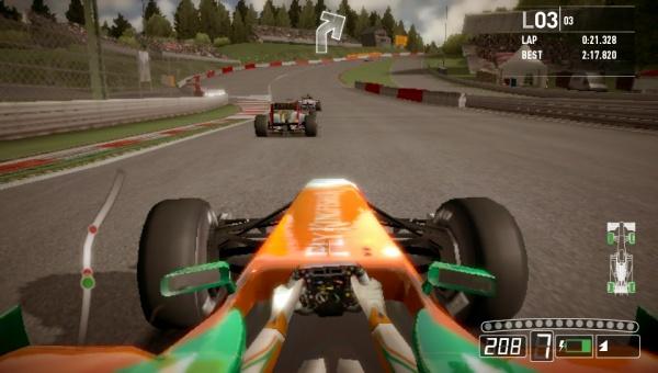 F1 2011 screenshot 4