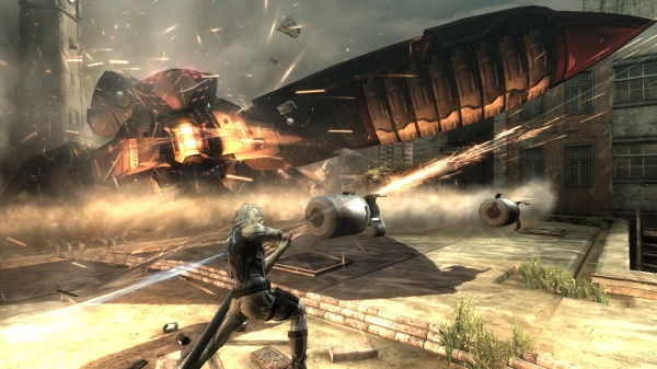 Metal Gear Rising: Revengeance screenshot 3