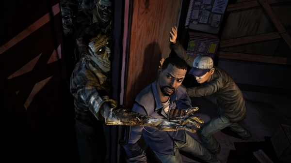 The Walking Dead: Episode 1 - A New Day screenshot 2
