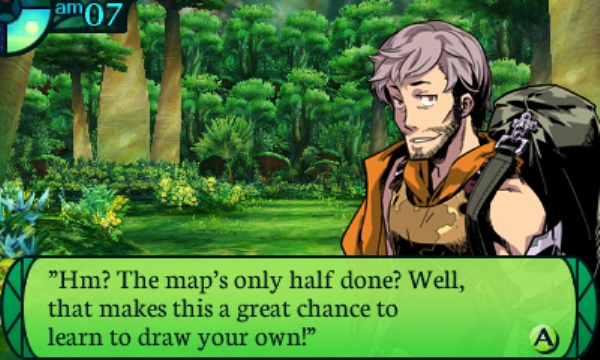Etrian Odyssey IV: Legends of the Titan screenshot 1