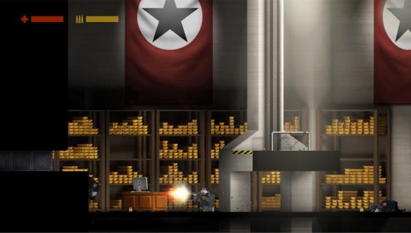 Rocketbirds: Hardboiled Chicken screenshot 1