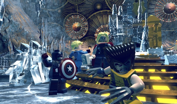 LEGO Marvel Super Heroes screenshot 11