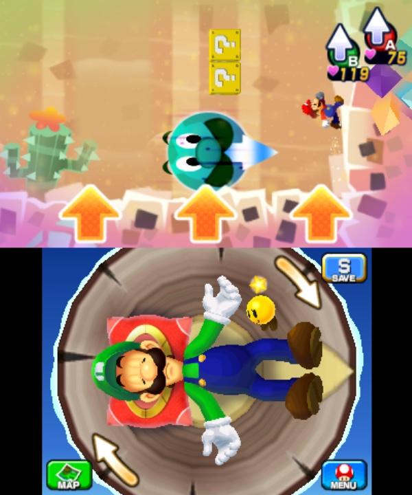 Mario Luigi Dream Team Screenshot 1 3ds The Gamers