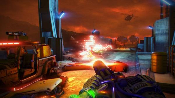 Far Cry 3 Blood Dragon screenshot 3