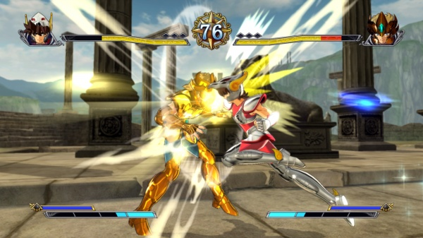 Saint Seiya Brave Soldiers screenshot 1