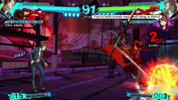 Persona 4 Arena Ultimax screenshot 2