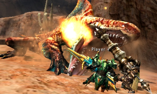 Monster Hunter 4 Ultimate comes to the 3DS