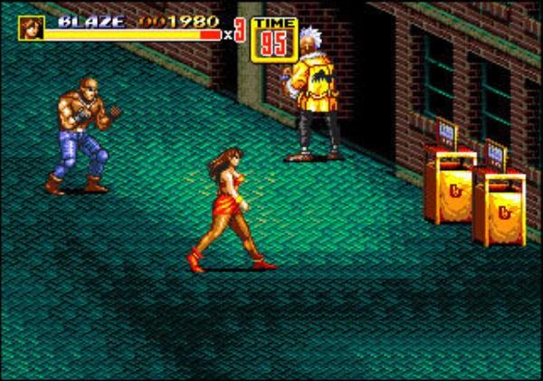3D Streets of Rage 2 screenshot 1