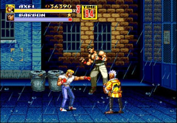 3D Streets of Rage 2 screenshot 2