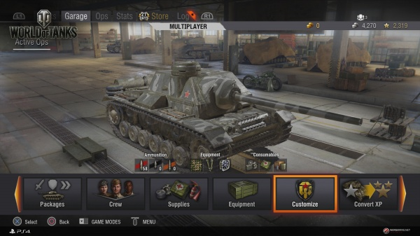 World of Tanks: Mercenaries screenshot 4
